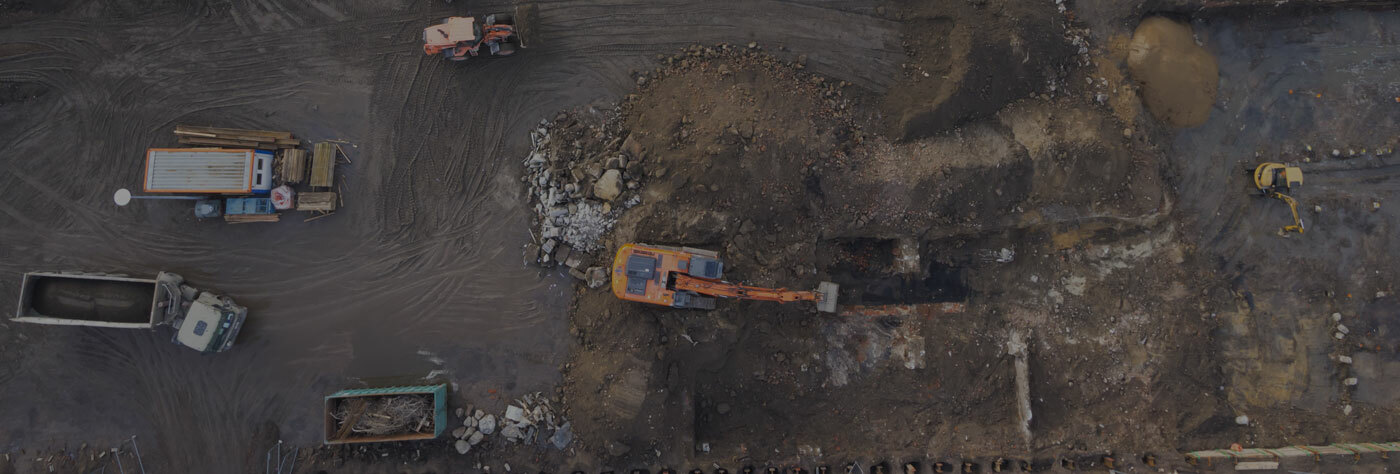 aerial-view-of-construction-site-with-heavy-machinery